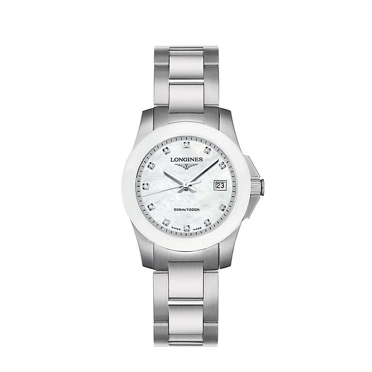 Longines Conquest ladies' bracelet watch - Product number 6081029