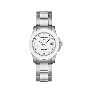 Longines Conquest ladies' bracelet watch - Product number 6081029