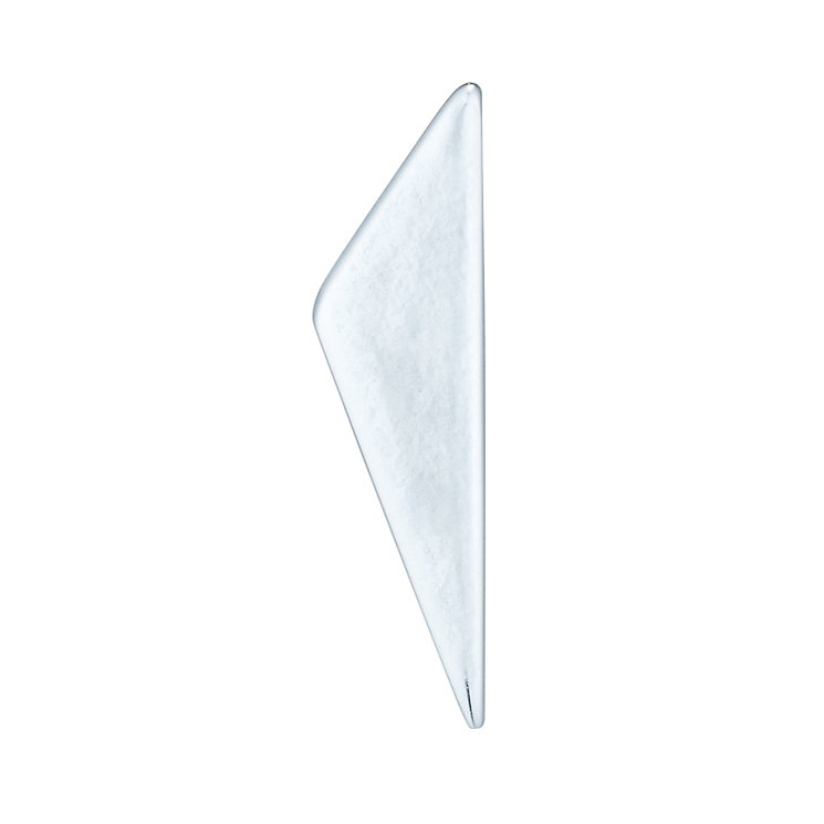 Sterling Silver Scalene Triangle Single Stud Earring - Product number 6081525