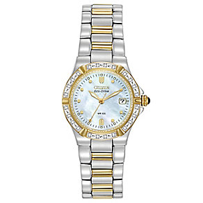 Citizen ladies' stainless steel bracelet watch - Product number 6081827