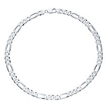 "Sterling Silver 20"" Figaro Chain - Product number 6085083"