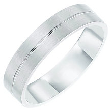 Palladium 950 Striped 5mm Band - Product number 6092357
