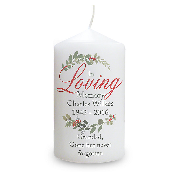 In Loving Memory Wreath Candle - Product number 6094880
