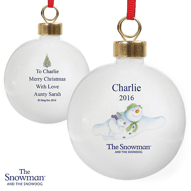 The Snowman and the Snowdog Flying Bauble - Product number 6095348