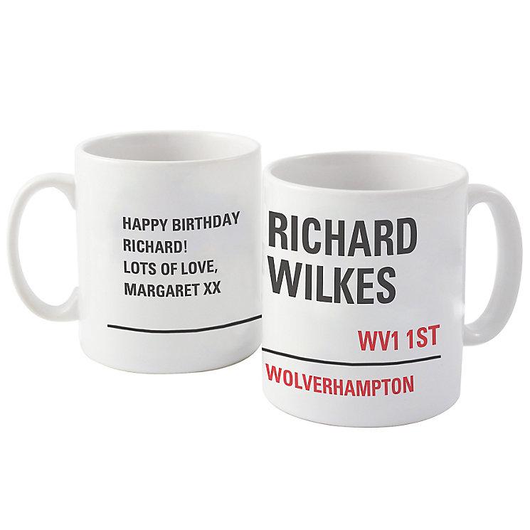 London Street Sign Mug - Product number 6098398