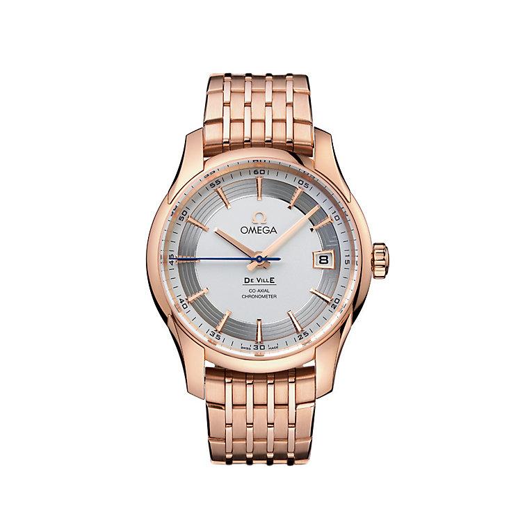 Omega De Ville Hour Vision men's 18ct rose gold watch - Product number 6100597