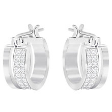 Swarovski Graceful Stone Set Hoop Earrings - Product number 6100600