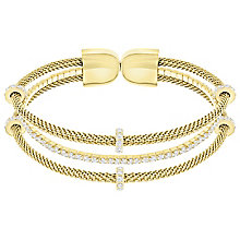 Swarovski Gate Gold Plated Bangle - Product number 6100880