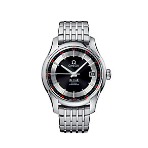 Omega De Ville men's black dial bracelet watch - Product number 6100910