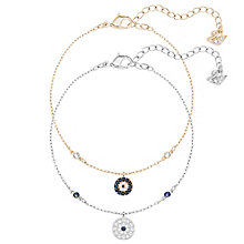 Swarovski Crystal Wishes Two Colour Crystal Bracelet Set - Product number 6100937