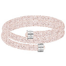 Swarovski Pink Crystal Dust Bangle - Product number 6100953