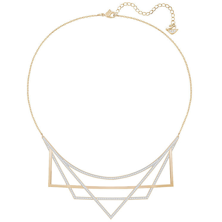 Swarovski Geometry Rose Gold Plated Necklace - Product number 6101054