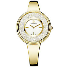 Swarovski Crystalline Pure Ladies' Gold Plated Watch - Product number 6101348