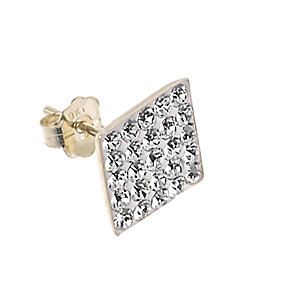 9ct Gold Glitter Single Stud Earring - Product number 6102018