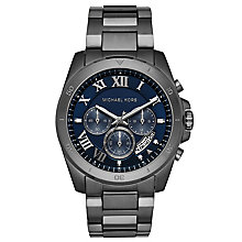 Michael Kors Brecken Men's Ion Plated Bracelet Watch - Product number 6103782
