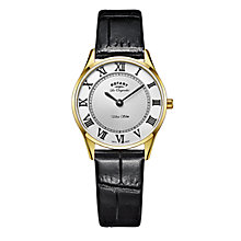 Rotary Les Originales Ultraslim Ladies' Gold Bracelet Watch - Product number 6111750