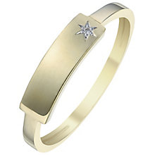 9ct Gold Diamond Set Ring - Product number 6114148