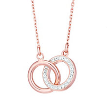 Evoke Rose Gold-Plated Crystal Pendant - Product number 6114458