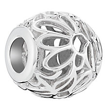 Chamilia Openwork Floral Sterling Silver Bead - Product number 6128149