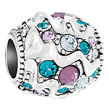 Chamilia Wavy Ribbons Treasure Sterling Silver Bead - Product number 6128262