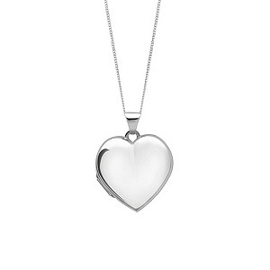 Sterling Silver Heart Pendant - Product number 6131905