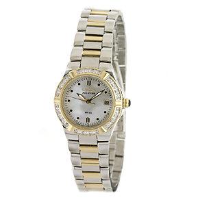 Citizen Ladies' Eco Drive Bracelet Watch With 24 Diamonds - Product number 6136435