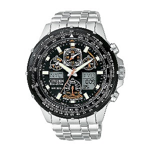 Citizen Skyhawk Eco Drive Radio Controlled Watch