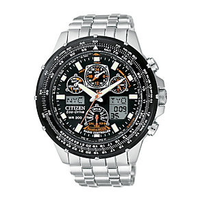Citizen Men's Skyhawk Eco Drive Radio Controlled Watch - Product number 6136494