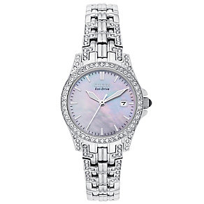 Citizen Ladies' Eco Drive Stainless Steel Bracelet Watch - Product number 6136559