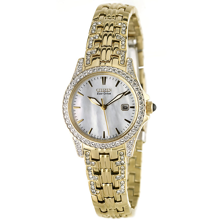 Citizen Eco Drive Exclusive Stone Set Bracelet Watch - Product number 6136583