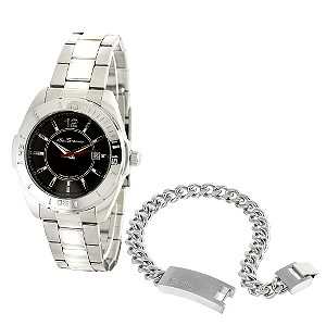 Stainless Steel Bracelet Watch Gift Set