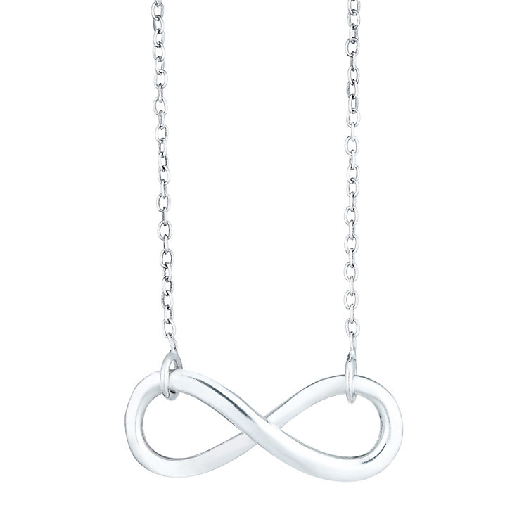 Sterling Silver Infinity Pendant - Product number 6140653