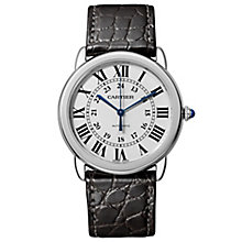Cartier Ronde Solo Men's Stainless Steel Strap Watch - Product number 6140742