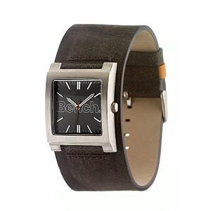 Men Brown Strap Watch