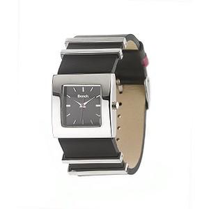 Ladies`Black Strap Watch