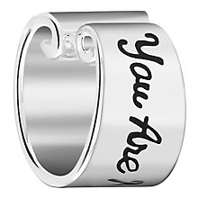 Chamilia Sterling Silver You Are My Sunshine Banner Bead - Product number 6142877
