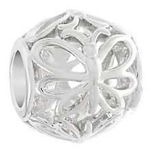 Chamilia Sterling Silver Openwork Butterfly Bead - Product number 6142885