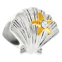 Chamilia Sterling Silver Just Shellin' Bead - Product number 6143075