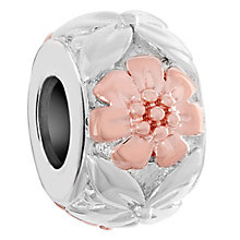 Chamilia Sterling Silver Flower Crown Bead - Product number 6143091