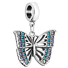 Chamilia Sterling Silver Rainforest Butterfly Charm - Product number 6143504