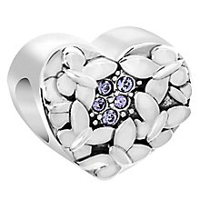 Chamilia Sterling Silver Butterfly Love Bead - Product number 6143903