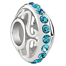 Chamilia Sterling Silver Lavish Blue Zirconia Bead - Product number 6143970