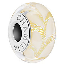 Chamilia Yellow Paisley Daisy Murano Bead - Product number 6144101