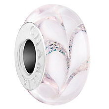 Chamilia Cream Paisley Lily Murano Bead - Product number 6144454