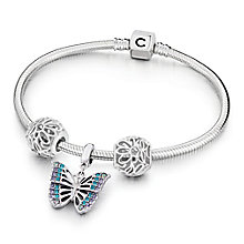 Chamilia Rainforest Butterfly Bead and Bracelet Set - Product number 6144470
