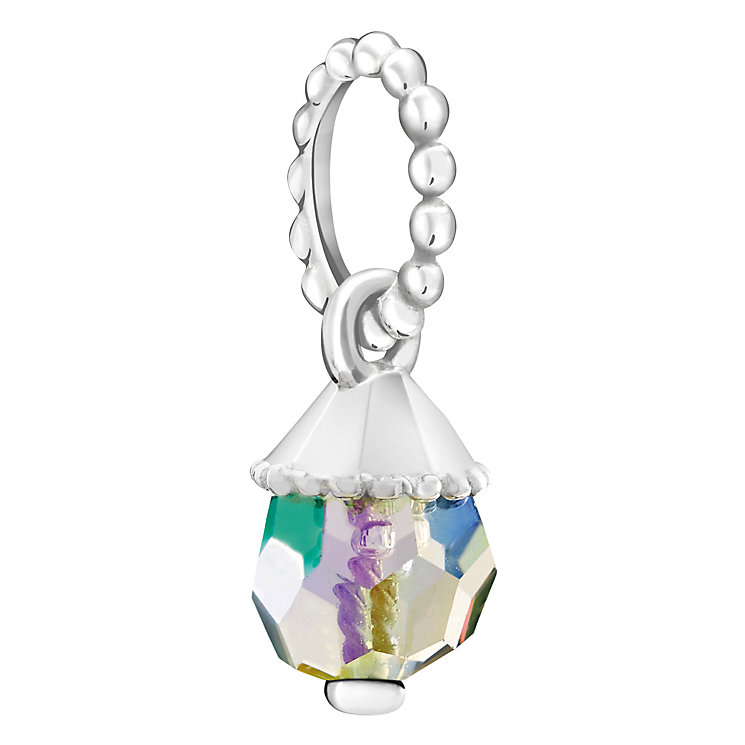 Chamilia Teardrop Accent Crystal Paradise Shine Charm - Product number 6145175