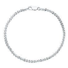 Sterling Silver Sparkle Bracelet - Product number 6147259