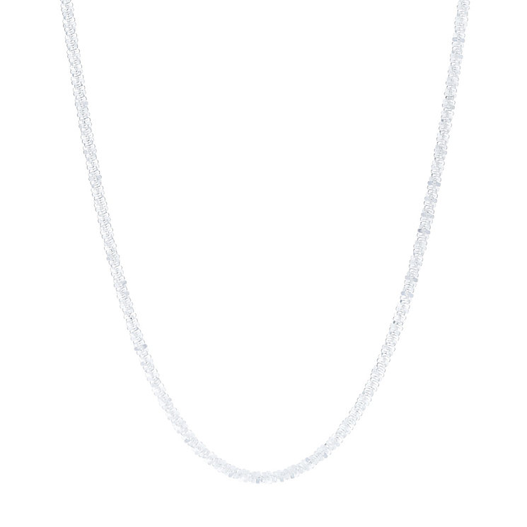 "Sterling Silver 26"" Glitz Chain Necklace - Product number 6148921"