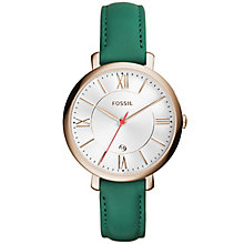 Fossil Jacqueline Ladies' Gold Tone Strap Watch - Product number 6153070