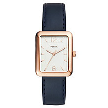 Fossil Ladies' Rose Gold Tone Strap Watch - Product number 6153100